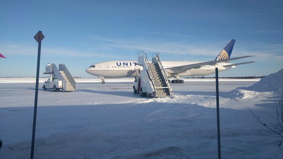 Die Passagiere durften das United-Flugzeug 16 Stunden lang nicht verlassen.