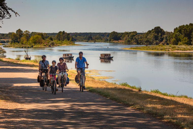 Die Schlösser an der Loire lassen sich hervorragend per Rad erkunden.