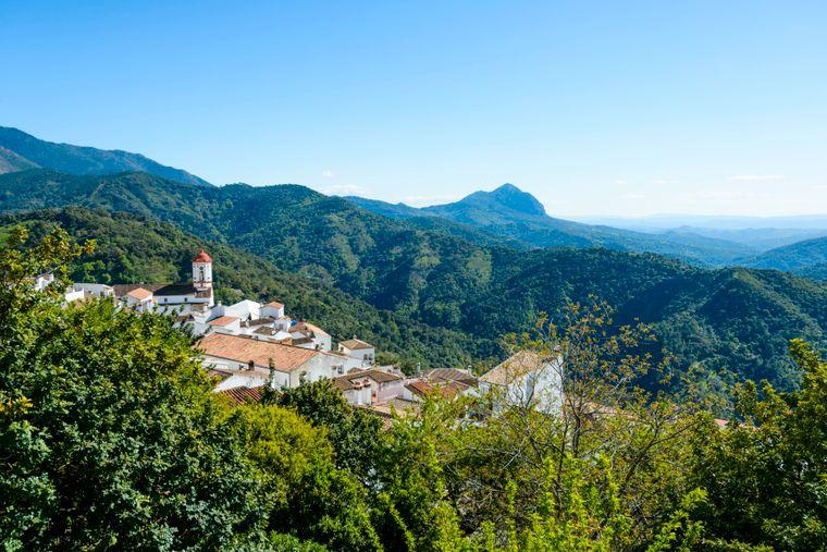 Das Dorf Genalguacil befindet sich in den Bergen Málagas.