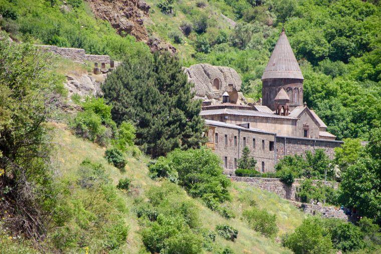 Höhlenkloster des Heiligen Grigori Anfang des 4. Jahrhunderts gegründet.