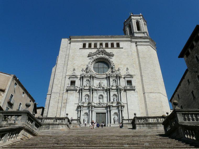 """Die Kathedrale Santa Maria in Girona diente für die 6. Staffel von """"Game of Thrones"""" als Drehort."""