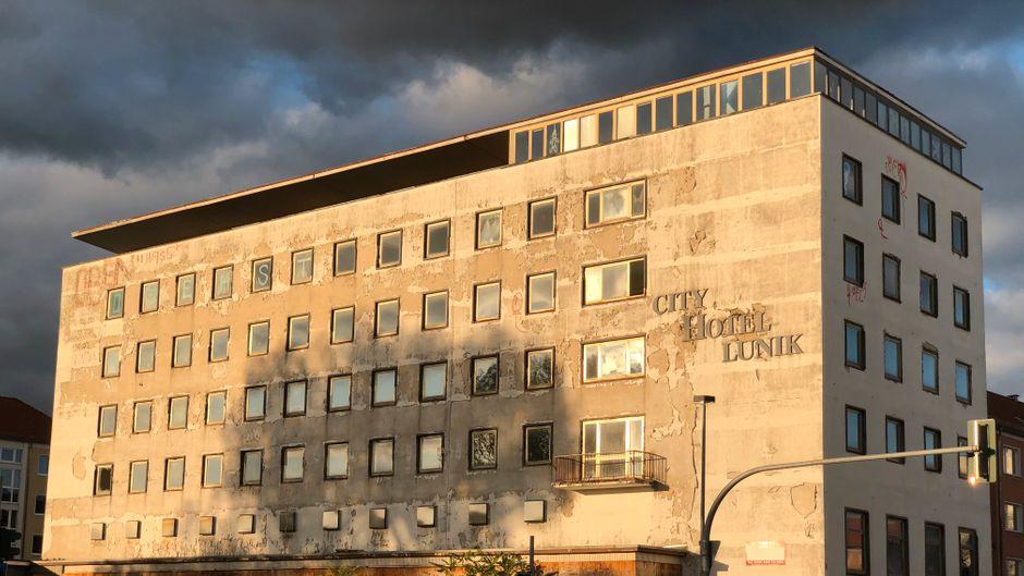 Das Hotel Lunik – ein Lost Place in Eisenhüttenstadt.