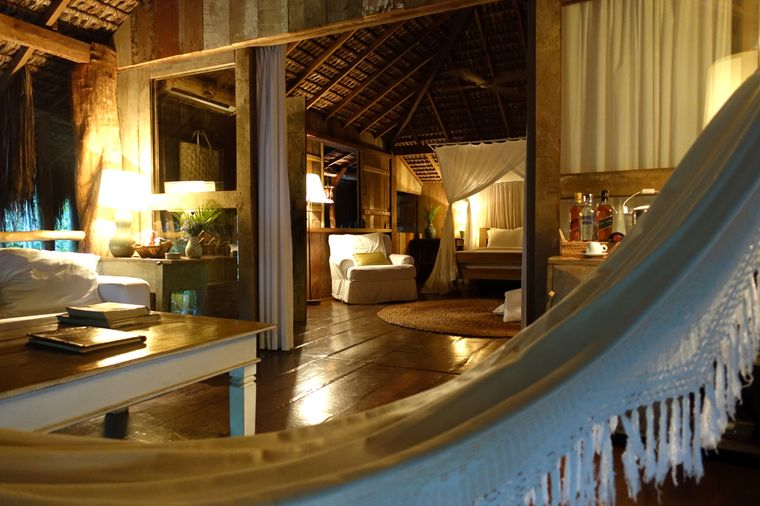 Im Uxua Casa Hotel and Spa bist du von einsamen Traumstränden und üppigen Regenwäldern umgeben.