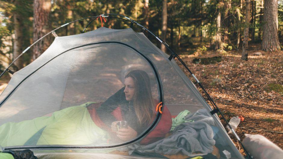Wildcamping wird in einigen Bundesländern erlaubt.