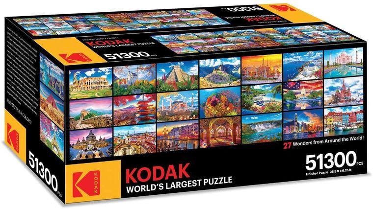 Puzzle von Kodak.