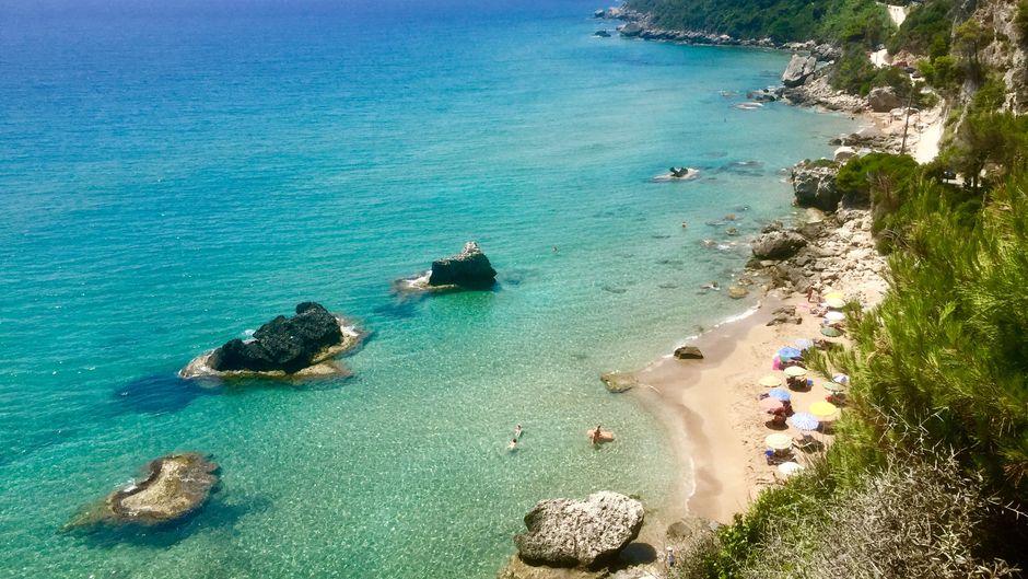 Auf der Insel Korfu finden Urlauber echte Traumstrände.
