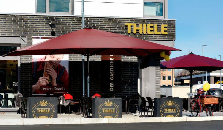 Die neue Filiale der Bäckerei Thiele am Maschmühlenweg.