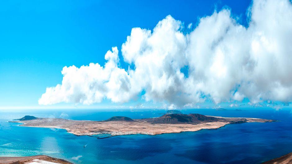 Die kanarische Insel La Graciosa gehört zu den besten Tauchplätzen der Welt.