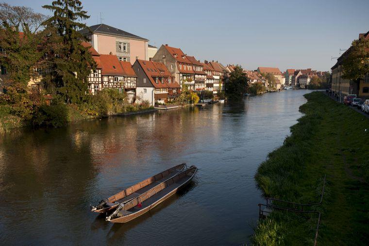 """""""Klein-Venedig"""" in Bamberg ist Unesco-Weltkulturerbe."""