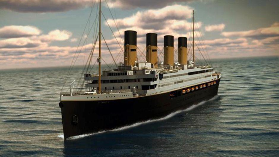 """So soll die """"Titanic II"""" aussehen."""