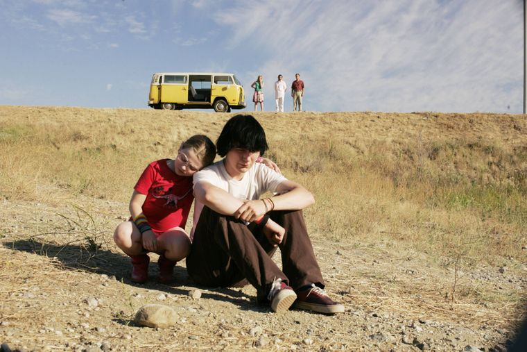 """Ein Ausschnitt aus dem Film """"Little Miss Sunshine""""."""