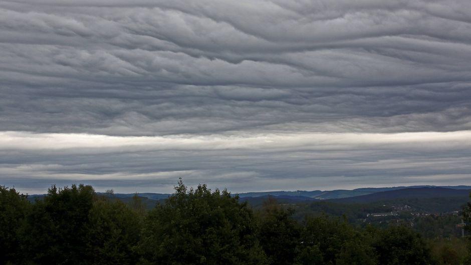 Am morgigen Sonntag könnte es stürmisch werden in Deutschland.