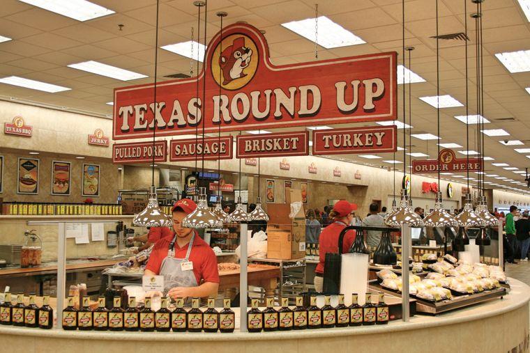 Buc Ee's, Texas