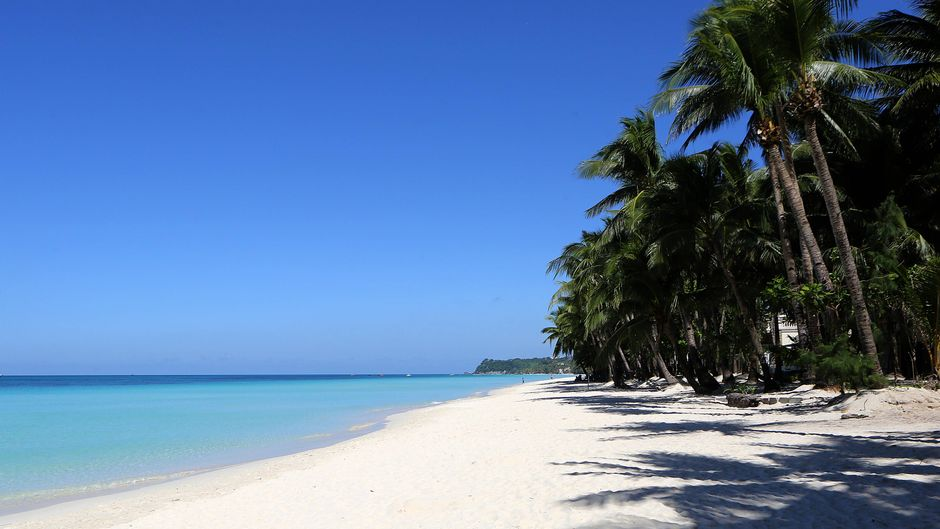 Leere Strände auf Boracay – die Traumsinsel auf den Philippinen war sechs Monate lang für Besucher gesperrt.