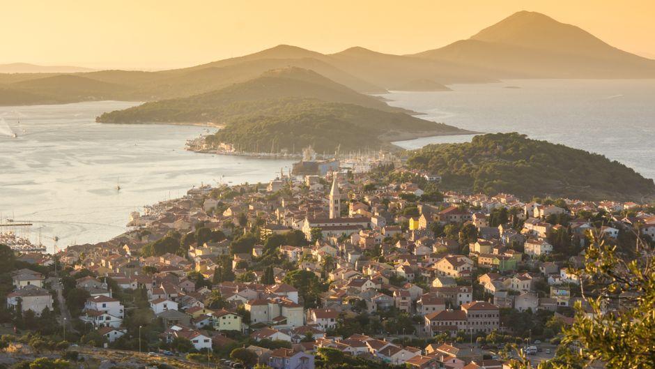 Ein echtes Urlaubsidyll: Die Stadt Mali auf der kroatischen Insel Losinj.