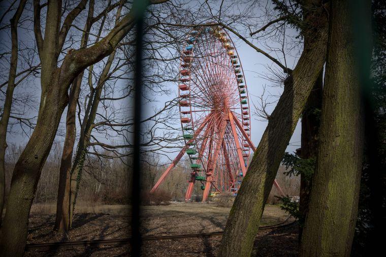 Riesenrad im Spreepark.