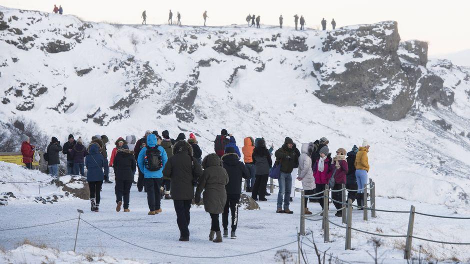 Immer mehr Besucher: Island plant die Einführung einer Touristensteuer ab 2020.