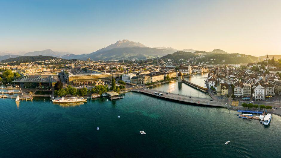 Luzern, das gesellschaftliche Zentrum der Zentralschweiz.