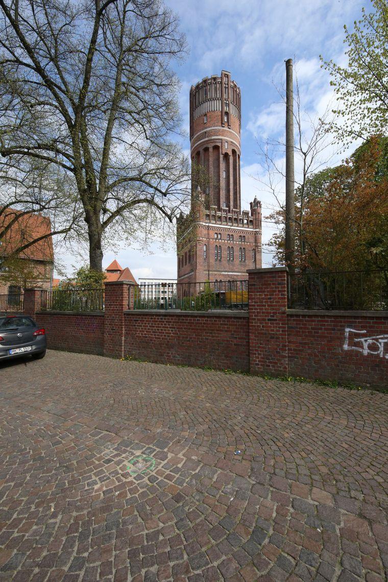 Der Wasserturm in Lüneburg bietet einen ausgezeichneten Blick über die Stadt.