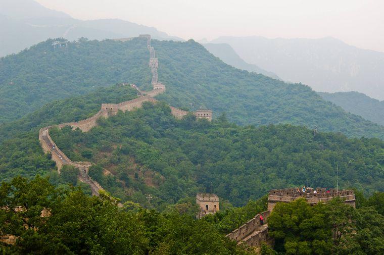 Chinesische Mauaer, China.