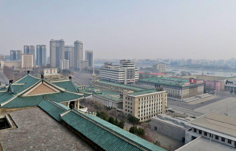 Die nordkoreanische Hauptstadt Pjöngjang fasziniert den US-Fotografen Steve McCurry.
