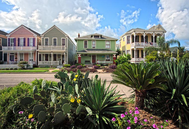 Galveston ist für seine viktorianische Architektur bekannt.