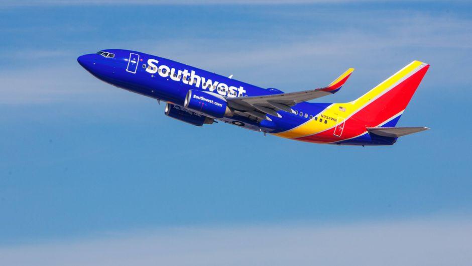 Fünf Stunden lang schaute ein Mann an Bord einer Southwest-Maschine Pornos und befriedigte sich selbst.