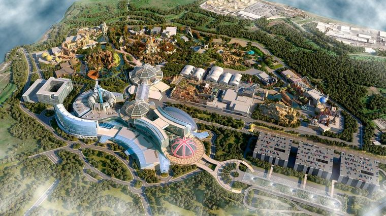 """The London Resort""-Plan."