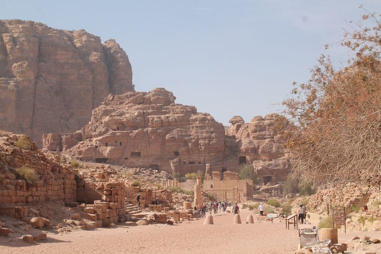 Mehr als eine halbe Million Besucher kommt pro Jahr nach Petra.