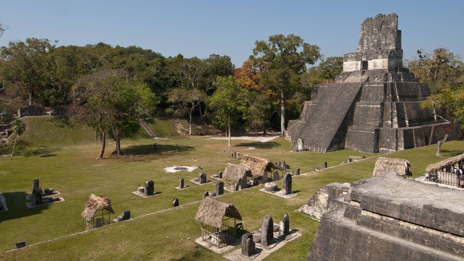 Der Tikal-Tempel 2.