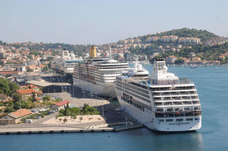 Drei Kreuzfahrtschiffe gleichzeitig in Dubrovnik? Das wird es ab 2019 nicht mehr geben.