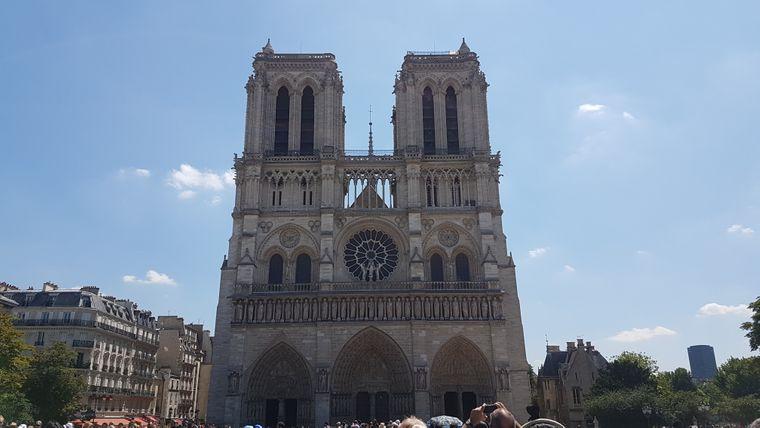 Die beiden Haupttürme von Notre-Dame hat Kevin Behrens aus Kiel fotografiert.