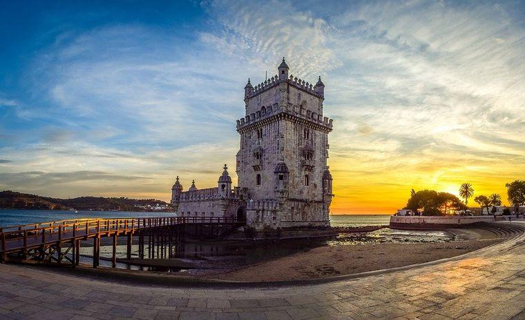 Torre de Belem, Lissabon.