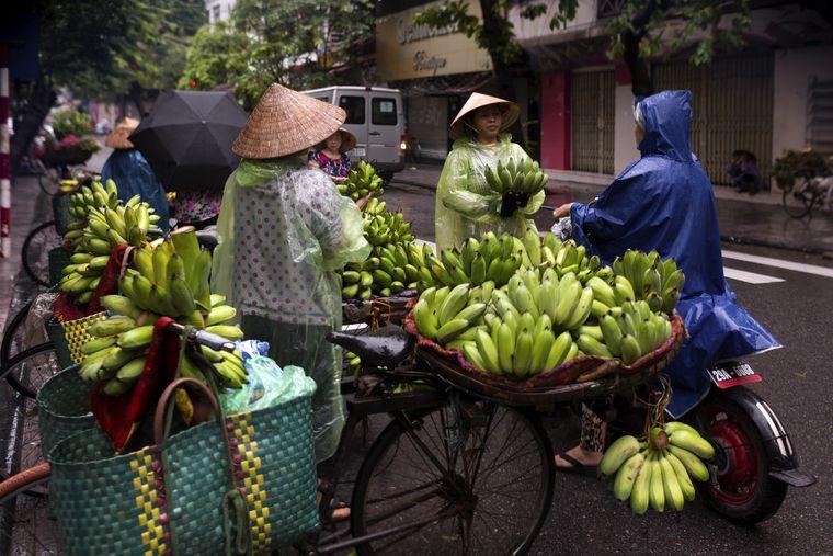 Hanois Straßen Vietnam