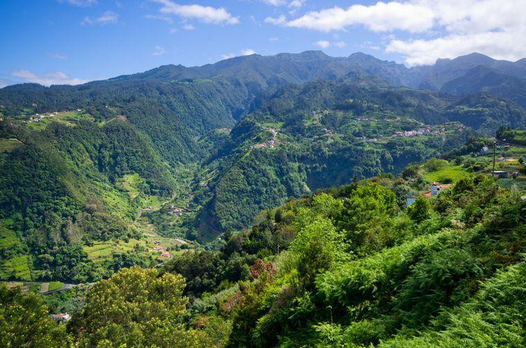 Landscape near Sao Jorge - Madeira island, Portugal imago images/ccat82