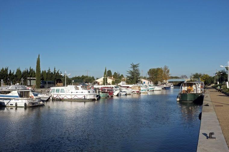 Maritimes Flair am Canal du Rhône à Sète.
