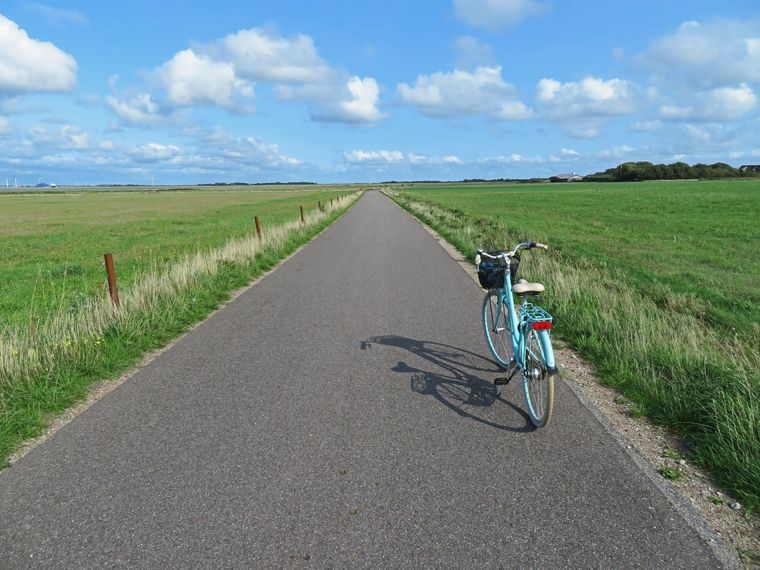 Fahrradtour auf Fanø.
