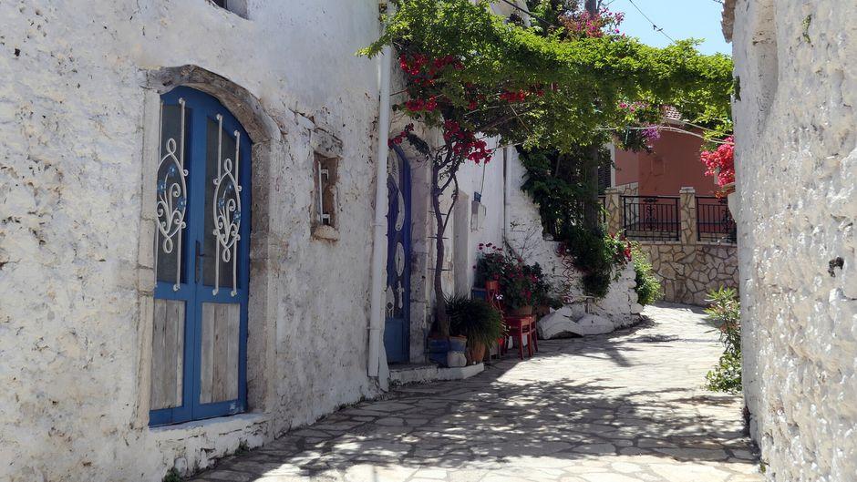 Ein Dorf schöner als das andere – auf der griechischen Insel Korfu.