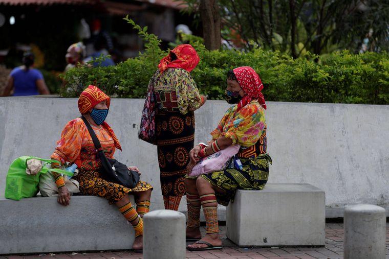 Frauen in Panama-Stadt.