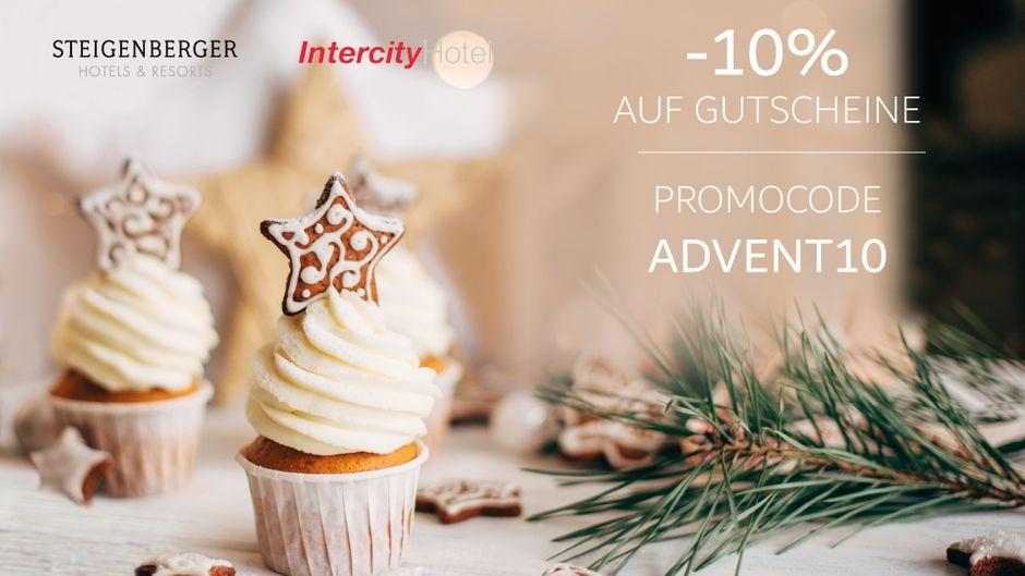 10 Prozent off auf alle Gutscheine bei Steigenberger und IntercityHotel.