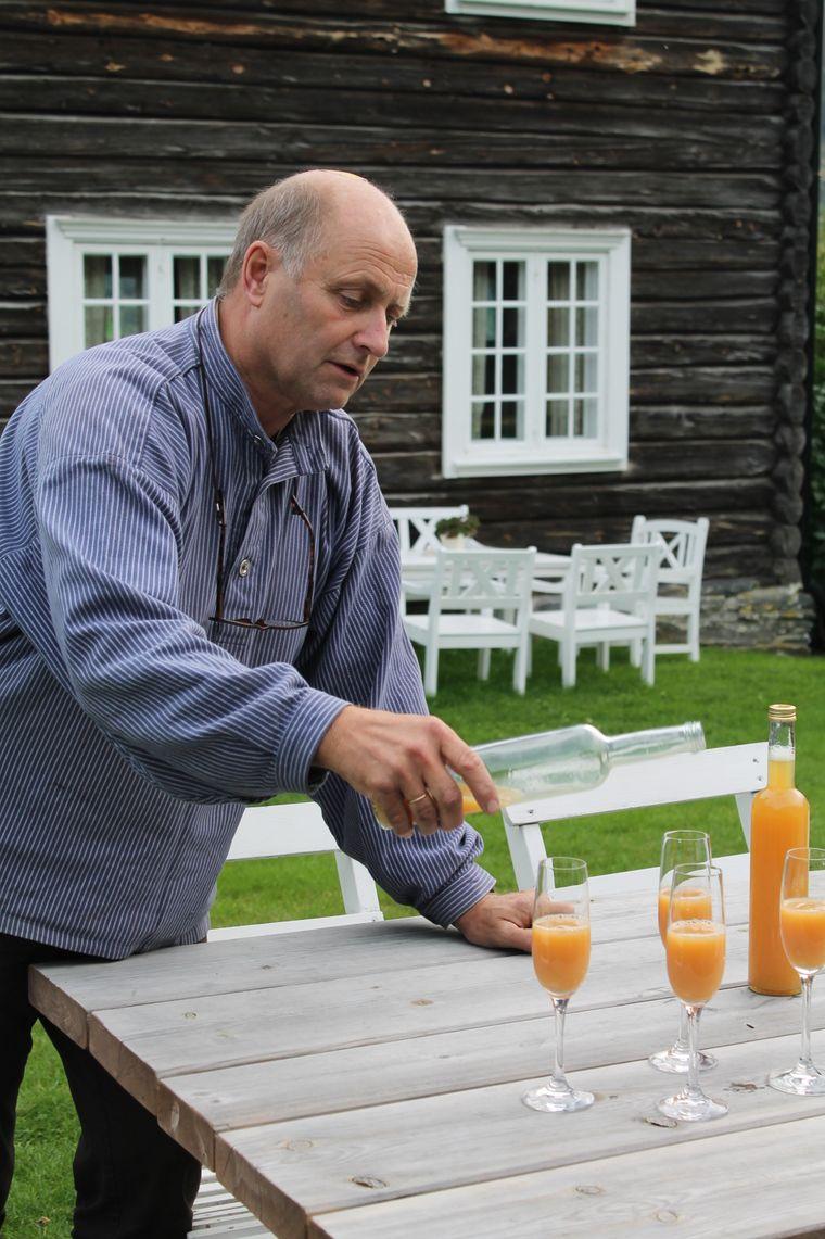 Stig Grytting sorgt mit seiner Frau Hilde dafür, dass sich müde Pilger auf seinem Hof wie zu Hause fühlen.