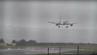 Spektakulär: Die Maschine von Tui Airways landete seitwärts am Flughafen Bristol.