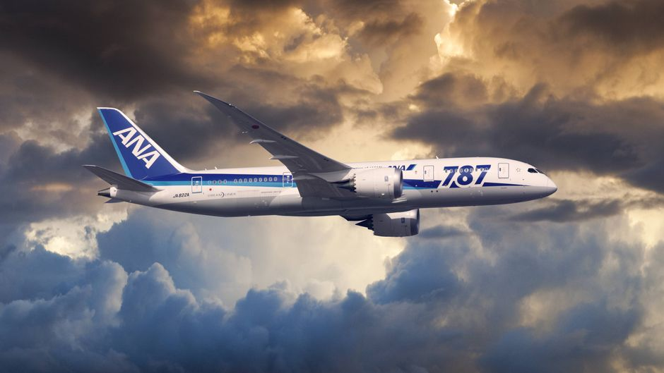 Boeing 787-8 Dreamliner von All Nippon Airways.