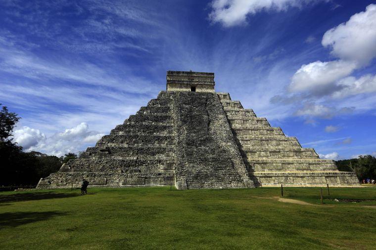 Die Pyramide von Kukulkan.
