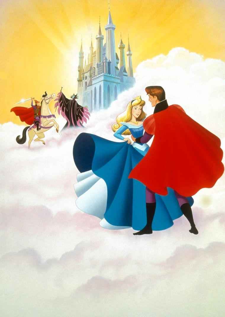 """Das Märchenschloss aus """"Dornröschen"""" wurde von einem echten Schloss in Deutschland inspiriert."""