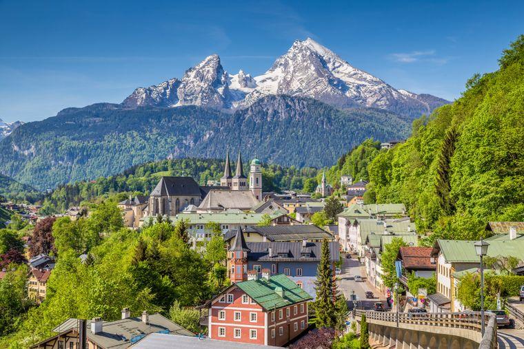 Berchtesgaden in Oberbayern.