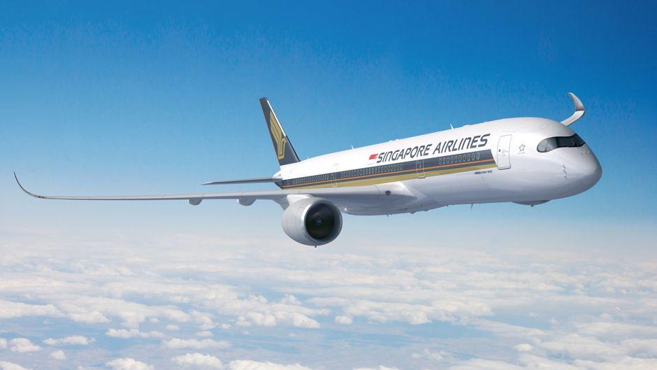 Die neuen Airbusse A350-900ULR werden die neue Nonstop-Strecke zwischen Singapur und New York ab Oktober fliegen.