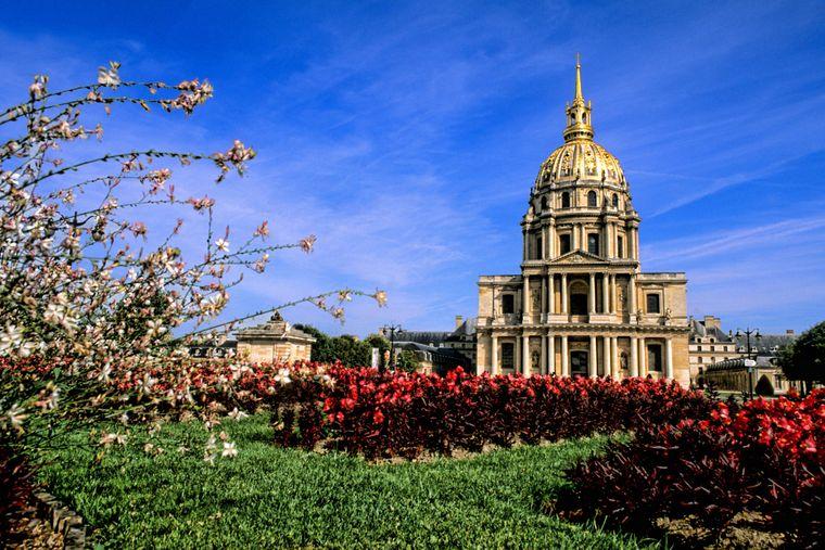 Das beliebte französische Hôtel des Invalides.