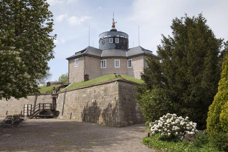 Festung auf der Insel Wilhelmstein, Naturpark Steinhuder Meer, Niedersachsen, Deutschland.