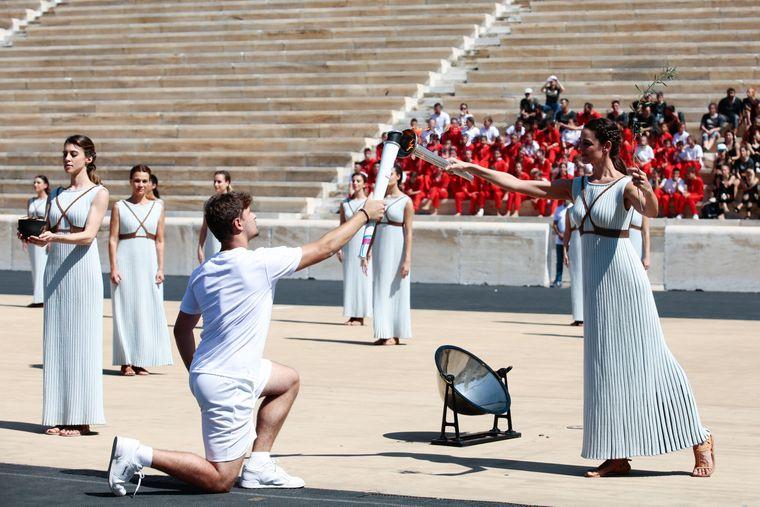Olympische Spiele – die Sportspiele haben in Griechenland eine jahrtausendealte Tradition.
